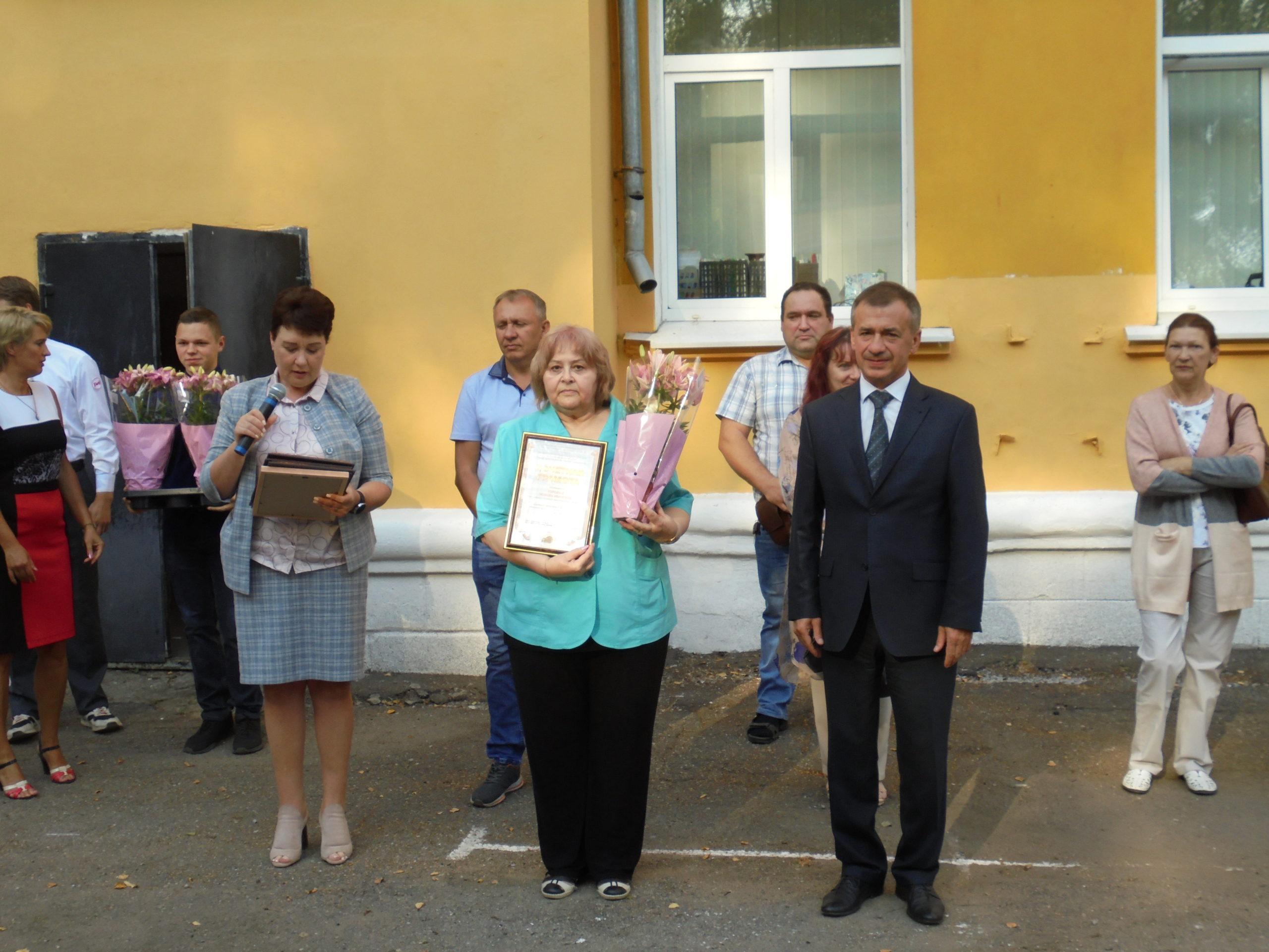 Награждение лучших сотрудников и преподавателей УТЖТ филиала ПГУПС