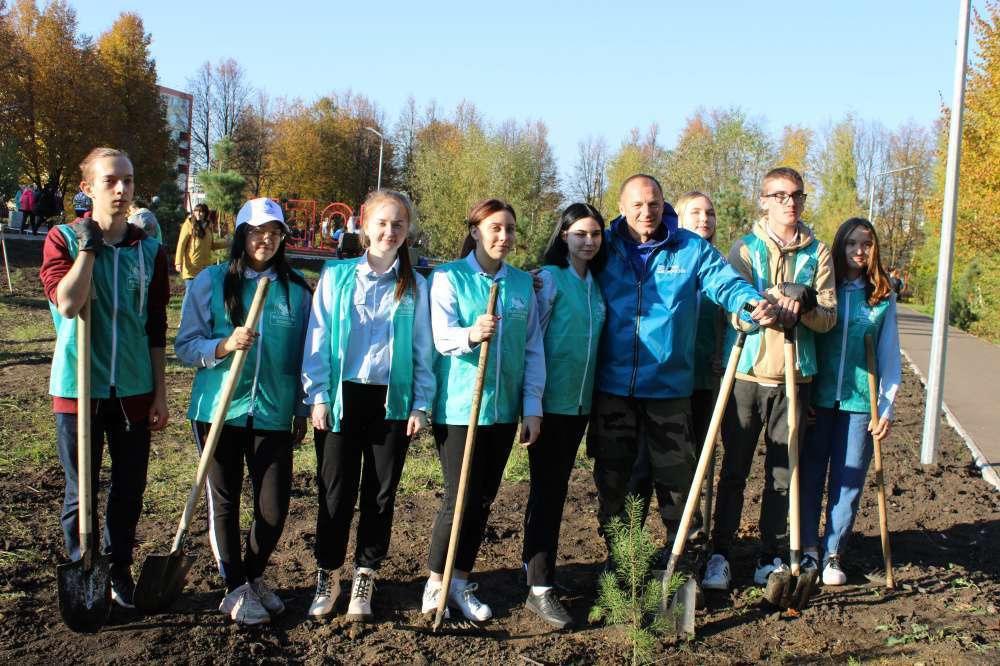 Наши Волонтёры Победы приняли участие в эколого-патриотической акции
