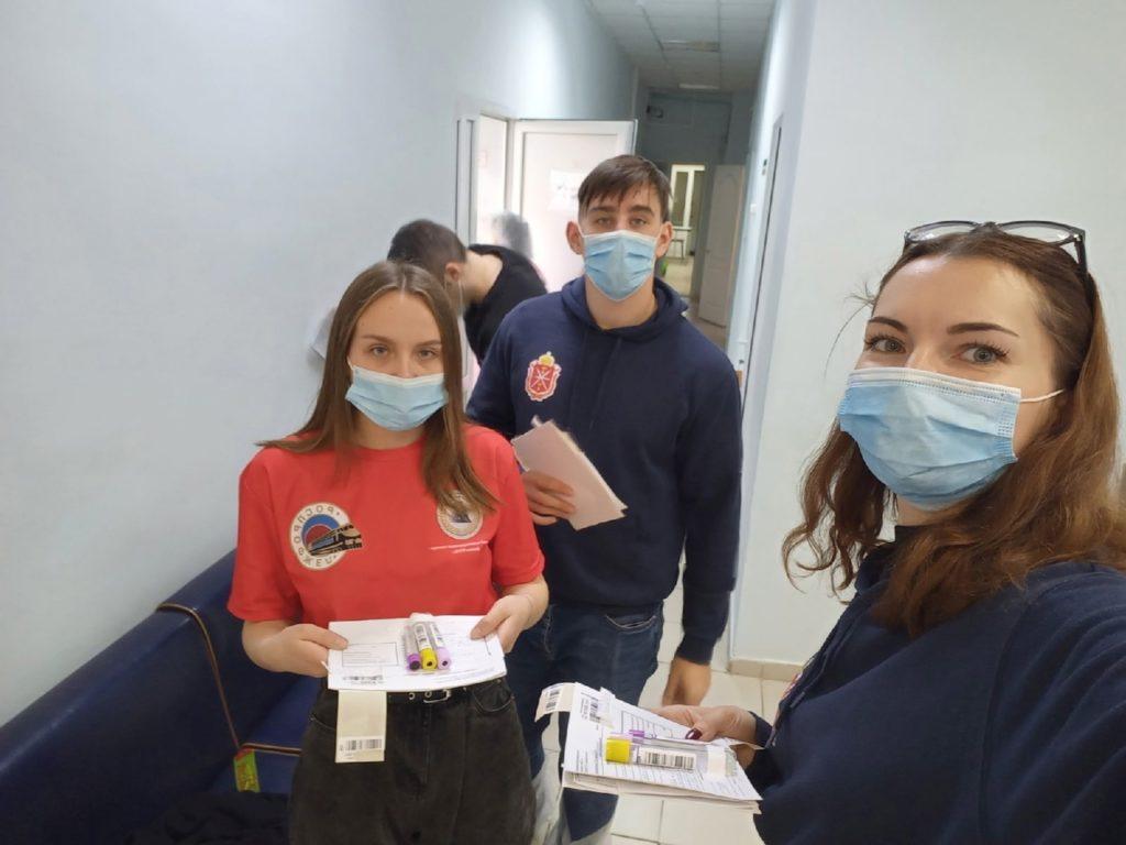 Узловчане приняли участие в акции «Осенняя неделя добра».