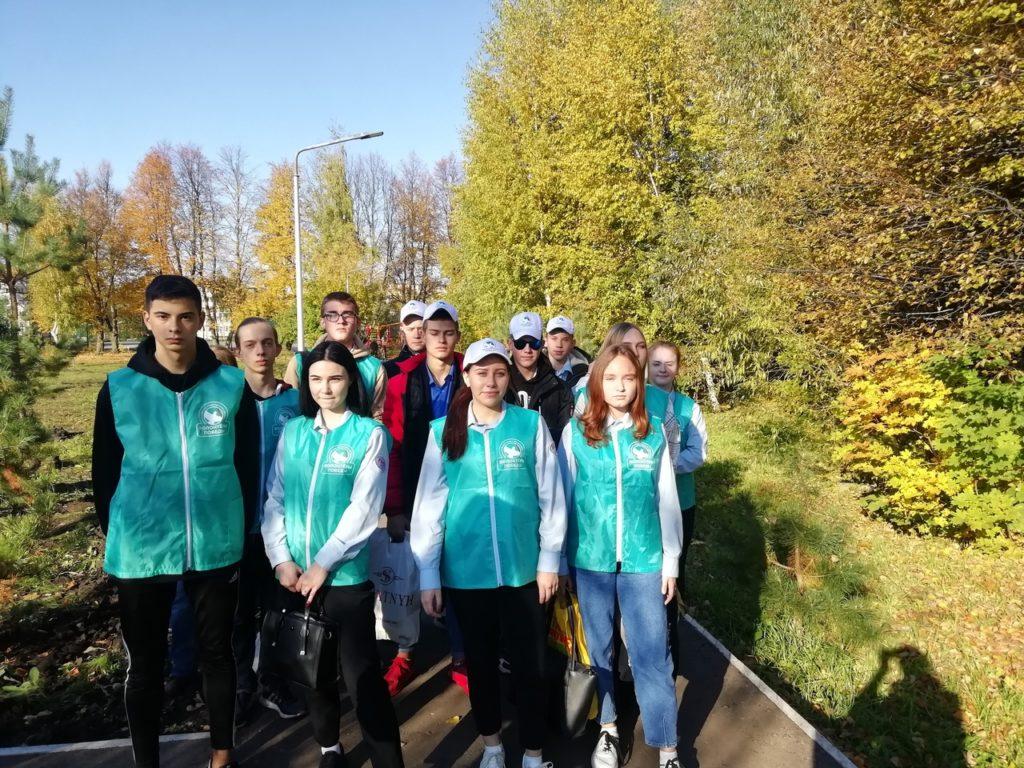Волонтерский отряд Узловского железнодорожного техникума-филиала ПГУПС